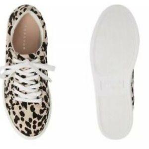 TopShop Leopard Platform Sneakers
